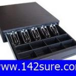 CSD008 ลิ้นชักเก็บเงิน กล่องเก็บเงิน Cash drawer SK-460 (5 ช่องธนบัตร 8 ช่องเหรียญ สำหรับธนบัตรไทยโดยเฉพาะ ปรับความกว้างช่องได้) ยี่ห้อ OEM รุ่น SK-460L