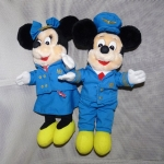 micky & minnie /ใส่ชุดแอร์ออสเตส ขายคู่