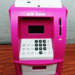 ตู้ ATM ออมสิน ขาวชมพู (ซื้อ 3 ชิ้น ราคาส่ง 500 บาท ต่อชิ้น)