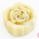 ขี้ผึ้งสำหรับรูดด้าย รูปดอกกุหลาบ 65กรัม(1ก้อน)
