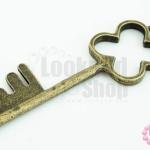 จี้ทองเหลือง กุญแจ 19X59มิล (1ชิ้น)