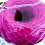 เชือกป่านย้อมสี สีบานเย็น #11 เส้นเล็ก (1ม้วน)