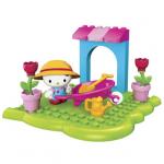 Hello Kitty Flower Garden เมก้าบล๊อค MG10858 [ส่งฟรี]