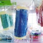 ริบบิ้น สีน้ำเงินเข้ม สำหรับผูกลูกโป่ง ยาว 10 เมตร - Ribbon Royal Blue Color For Balloon