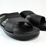 รองเท้าหนัง Aerosoft 4146 ดำ