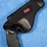 ซองปืนขนาด .38 รีวอลเวอร์ Police สีดำ