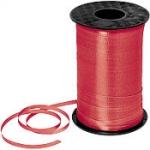 ริบบิ้นม้วนใหญ่ สีแดง สำหรับผูกลูกโป่ง ยาว 350 เมตร - Red Curling Ribbon