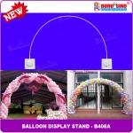 เสาลูกโป่ง ทรงโค้ง - Balloons Arch Curved shape ( B408A)