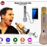 K088 ไมโครโฟนบลูทูธคาราโอเกะ ลำโพงในตัว องรับ USB SDCARD เสียงคุณภาพดี สนุกไปกับการร้องเพลง ทุกที่ทุกเวลา