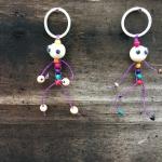 ร้านลูกปัด(กาดหลวง)สอนร้อยลูกปัดเป็นงานอดิเรกสร้างรายได้เสริม|EP.2 วิธีทำพวงกุญแจตุ๊กตาไม้