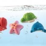 ของเล่นไม้ ของเล่นเด็ก ของเล่นเสริมพัฒนาการ Sea Life Bath Set ชุดสัตว์น้ำทะเล (ส่งฟรี)