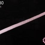 ซิปล็อค TW สีชมพูอ่อน 20นิ้ว(1เส้น)