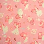 คอตตอนลินินญี่ปุ่น ลายซินเดอเรลล่า สีชมพู เหมาะสำหรับงานผ้าทุกชนิด ตัด กระโปรง ทำกระเป๋า ปลอกหมอน และอื่นๆ