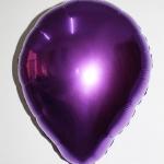 ลูกโป่งฟลอย์รูปหยดน้ำ สีม่วง - Water Drop Shape Foil Balloon Purple Color / Item no. TL-G036