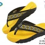 Scholl Brazillian IV (รุ่น บราซิลเลี่ยน 4) Black/Yellow เบอร์ 3-8