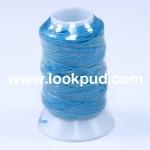 เชือกเทียน ตรากีตาร์(ม้วนเล็ก) สีฟ้า922