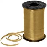 ริบบิ้นม้วนใหญ่ สีทอง สำหรับผูกลูกโป่ง ยาว 350 เมตร - Gold Curling Ribbon