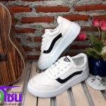 รองเท้าผ้าใบแฟชั่นเกาหลี สีขาว รุ่นF5 เบอร์36-40