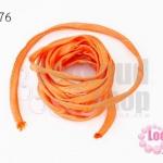 เชือกผ้า ไส้ไก่ สีส้ม (1เส้น/2เมตร)