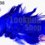 ขนนก(ก้าน) สีน้ำเงิน (20ชิ้น)
