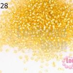 ลูกปัด Miyuki สีทองสอดไส้ #3 2มิล(10กรัม)