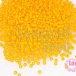 ลูกปัด Miyuki สีส้ม #405F 2มิล(10กรัม)