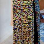 กางเกงปักอิวเมี่ยน สำหรับผู้หญิง สีสันสดใส