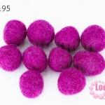 ลูกบอล Feit 15มิล #3 สีม่วงเข้ม (5ลูก)