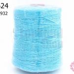 เชือกเทียน ตราLookpudshop(ม้วนใหญ่) สีฟ้า เบอร์ 2 #932 (1ม้วน)