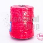 เชือกเทียน ตราลูกบอล(ม้วนใหญ่) สีชมพูเข้ม 936 (1ม้วน)