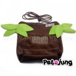 PJ-BON003-JG PetsJunG - Bonding Pouches Jungle set ถุงเดินทาง ติดซิบ