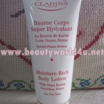 Clarins moisture-rich body lotion for dry skin 200 ml. no box (ลดพิเศษ 42%)