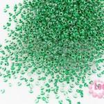 ลูกปัด Miyuki สีเขียวสอดไส้ #5 2มิล(10กรัม)