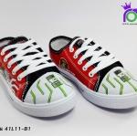 รองเท้า แอ๊ดด้า ผ้าใบเด็ก ADDA รุ่น 41L11-C1 สีแดง เบอร์ 31-35