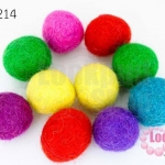 ลูกบอล Feit 20มิล #2 คละสี (5ลูก)
