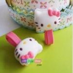 ที่เก็บสายหูฟังแบบยาง Hello Kitty PA0039
