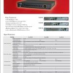 เครื่องบันทึกกล้องวงจรปิด DVR CCTV (Fu-8104/8108/8116)