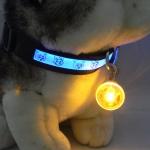 ไฟกระพริบ LED Clip on จี้ห้อยคอ สีเหลือง ห้อยพวงกุญแจ ป้ายห้อยคอสุนัขและแมว