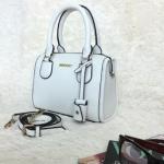 กระเป๋าสะพายข้างผู้หญิง รหัส SUB0019WH สีขาว แบบตั้งได้ สวยค่ะ