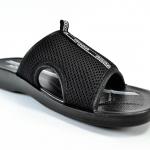 รองเท้าแตะหนัง ADDA 7J05 สีดำ 44-45