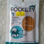 ขนมแมว mini Pockety คละรส (ขนมสำหรับน้องหมาและแมว)