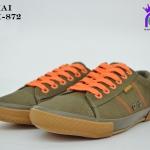 รองเท้าผ้าใบหญิงสปอร์ต Y.BOKAI รุ่นBOK-872 สีน้ำตาลส้ม เบอร์37-41
