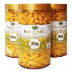 อาหารเสริมนมผี้ง Nature's king royal jelly 1000 mg