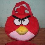 กระเป๋าถือได้ สะพายได้ Angry bird สีเแดง ของใหม่!!