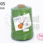 เชือกเทียน ตรากีตาร์(ม้วนใหญ่) สีเขียวอ่อน เบอร์ 2 918 (1ม้วน)