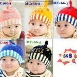หมวกเด็กเล็ก MC166 **เลือกสีด้านใน**