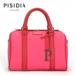 กระเป๋าแบรนด์เนม PISIDIA รุ่น WELKIN สีชมพู (ส่งฟรี EMS)