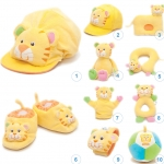 ของเล่นเสริมพัฒนาการ Gift set ชุดของขวัญ สำหรับเด็กอ่อน Set น้องเสือ สีเหลือง (ส่งฟรี)