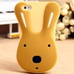 Rabbit Silicone Case _Brown