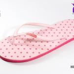 รองเท้าแตะ Hippo Bloo ฮิปโป บลู ลายจุด สีชมพู เบอร์ 9,9.5,10